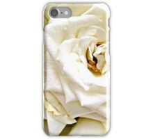 Fading White Rose iPhone Case/Skin