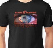 Blade Runner moments Unisex T-Shirt