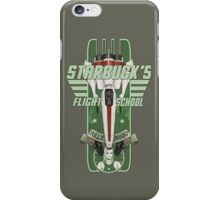 STARBUCK'S FLIGHT SCHOOL iPhone Case/Skin
