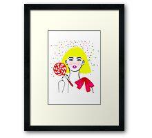 Heidi Framed Print