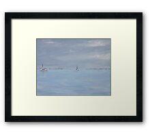 Grey day at Blakeney Framed Print