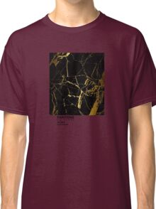 Black and Gold Marble Pantone Classic T-Shirt