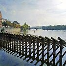 Vltava River by Astrid Ewing Photography