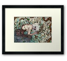 A Sinful Life Dying Framed Print