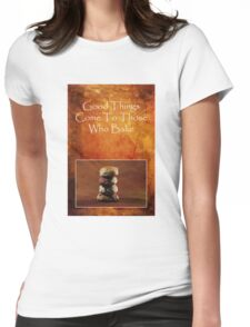 About Baking Womens Fitted T-Shirt