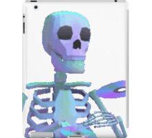 Skeleton Aesthetic | Vaporwave 80s inspired iPad Case/Skin