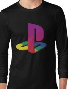 PlayStation Aesthetic Logo Long Sleeve T-Shirt