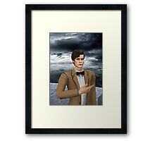 I am dr who john smith err matt smith err smith   Framed Print