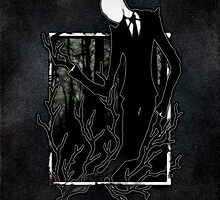 Slenderman IV by LadyFanhir