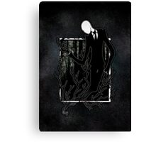 Slenderman IV Canvas Print