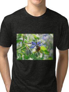 Borage & Bee Tri-blend T-Shirt