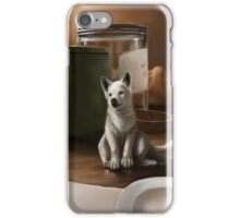 wolf pup iPhone Case/Skin
