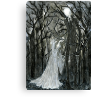 Slenderman :: A Stolen Love Canvas Print