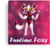 Sister Location: Funtime Foxy Canvas Print