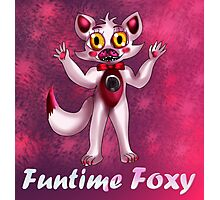 Sister Location: Funtime Foxy Photographic Print