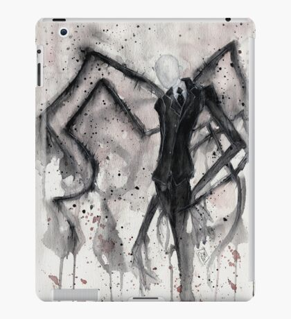 Slenderman II iPad Case/Skin
