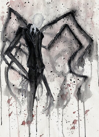 Slenderman II by LadyFanhir
