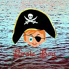 Pirate Boy - pillow & tote design by Dennis Melling
