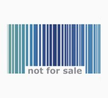 Not For Sale Barcode - Blues Baby Tee