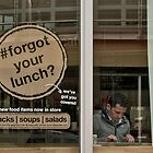 #forgot your lunch? by awefaul