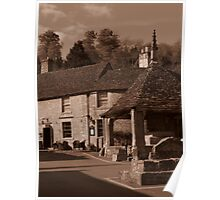 In Days Of Old, Castle Combe Poster