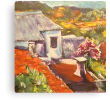 Greek Vista Canvas Print