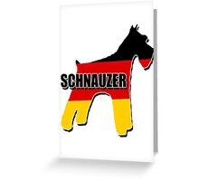 Schnauzer (German) Greeting Card