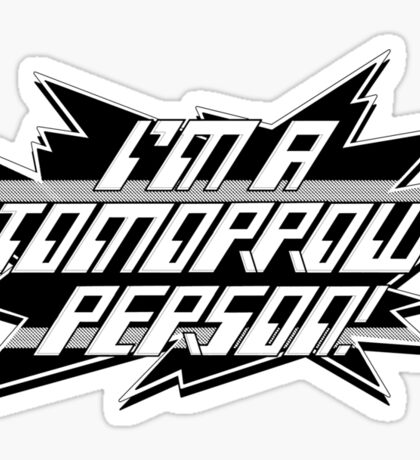 A tribute to Look-in's Tomorrow People t-shirt Sticker