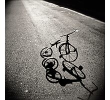 Trike Abandon Photographic Print