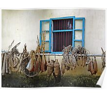 Farmer's Window Poster