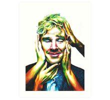 Benedict Cumberbatch (Jaguar Photoshoot) Art Print