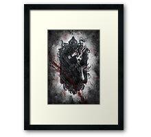 Fear of the Dark Framed Print