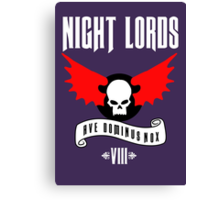 Night Lords VIII - Warhammer  Canvas Print