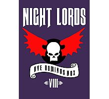 Night Lords VIII - Warhammer  Photographic Print