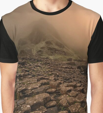 Sunset at Giant's Causeway Graphic T-Shirt