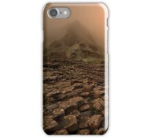 Sunset at Giant's Causeway iPhone Case/Skin