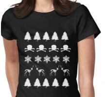 Scary Christmas! #2 Womens Fitted T-Shirt