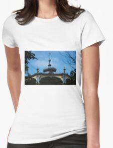 Ornamental Gazebo - Travel Photography Womens Fitted T-Shirt
