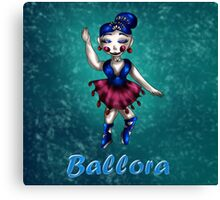 Sister Location: Ballora Canvas Print