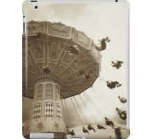 Theme Park Chair Ride iPad Case/Skin