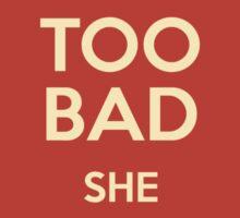 Blade Runner she won't live Sticker