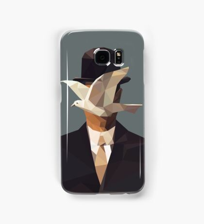 The Man In The Bowler Hat -Magritte- Samsung Galaxy Case/Skin