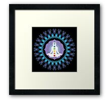 Young woman practicing meditation 10 Framed Print