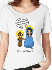 The First Rosary Women's Relaxed Fit T-Shirt