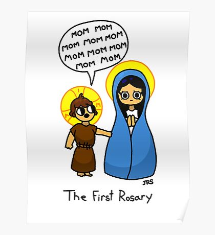The First Rosary Poster