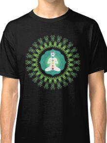 Young woman practicing meditation 11 Classic T-Shirt