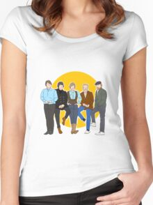 The Beach Boys // Pet Sounds Women's Fitted Scoop T-Shirt