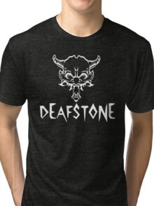 Deafstone Logo Tri-blend T-Shirt