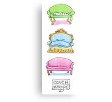 Couch Moods Metal Print