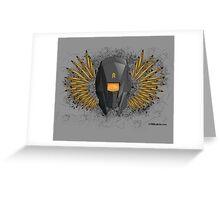 700 Bullets Logo Greeting Card